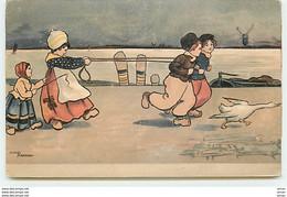 N°3754 - Ethel Parkinson - Jeunes Hollandais Jouant Avec Une Corde - Parkinson, Ethel