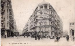 ALGER -  RUE D'ISLY - Algiers