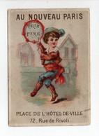 - CHROMO AU NOUVEAU PARIS - Place De L'Hôtel-de-Ville - 72, Rue De Rivoli - Edition MERTENS - - Sonstige