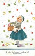 WILLS John (illustrateur) - Il Neige Du Bonheur! Profitez En! Bonne Année! - Wills, John