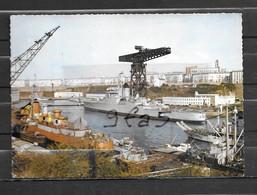 Croiseur COLBERT à Brest  En Penfeld- Carte  écrite - Oorlog