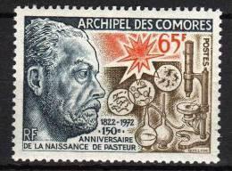 Comores N° 79 XX  Sesquicentenaire De La Naissance De Louis Pasteur Sans Charnière TB - Unused Stamps