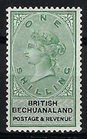 BECHUANALAND Colony 1887:  Le Y&T 16, Neuf* - 1885-1895 Kronenkolonie