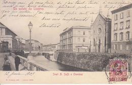 ITALIA - LIVORNO - Leggi Testo (non Comune), Animata, Viag.1903 - 2021-28 - Livorno