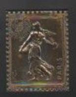Philexfrance 1982 . 30 Gr . 3,8 X 4,8 . Gravure Métalique Partiellemnt Oxydée . Dans La Boite D'origine . - Other