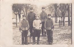CARTE PHOTO 16 éme  REGIMENT DE BEAUNE 1906 - Beaune