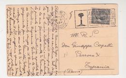 Card Cartolina Annullo A Targhetta-viaggiata Italy Italia - Ohne Zuordnung