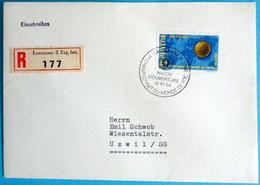 Schweiz Suisse 1954: Fussball-WM Zu 319 Mi 596 Yv 547 Mit Stempel LAUSANNE MATCH D'OUVERTURE 16.VI.54  (Zu CHF 8.00 ++) - 1954 – Zwitserland