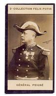 Chromo - Général Peigne - Collection Felix Potin - Félix Potin