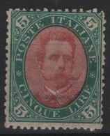 1889 5 L. MLH Ottima Centratura - Nuovi