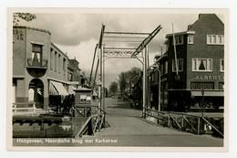 D594 - Hoogeveen Noordsche Brug Met Kerkstraat - Uitg A Steenbergen 1942 - - Hoogeveen