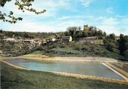 82 - Caylus - Le Village Et Le Plan D'eau De Labarthe - Caylus