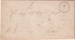 POLOGNE 1847 LETTRE DE STRZEPCZ - ...-1860 Prefilatelia