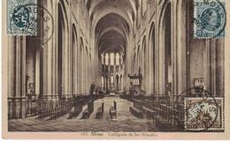 Mons; Collègiale Sainte-Waudru. Càd Mons 2F 1929. - Mons