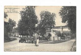 78 - PORT-MARLY ( S.-et-O. ) - Rue De Versailles. Rond-Point St-Fiacre - Other Municipalities