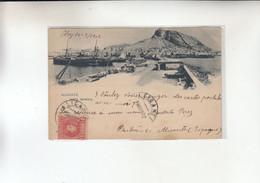 ALICANTE VISTA GENERAL   1900 - Alicante