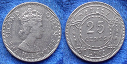 BELIZE - 25 Cents 2003 KM# 36 Independent Since 1973 - Edelweiss Coins - Belize