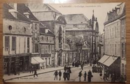Carte Postale Langres 1918  Le Collège Construit En 1763 - Langres