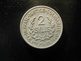 Guinea 2 Sylis 1971 Fine - Otros – Africa
