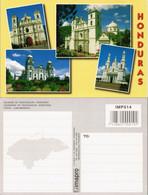 Postcard Tegucigalpa IGLESIAS DE TEGUCIGALPA, Kirchen Aus HONDURAS 2010 - Unclassified