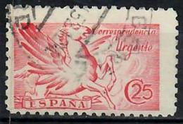 1942 Pegaso Ed 952 / Sc E20 / YT 30 / Mi 894 Usado / Used  / Oblitéré / Gestempelt - Correo Urgente