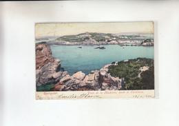 SANTANDER -VISTA DE LA MADELENA DESDE EL SARDINERO     1900 - Cantabria (Santander)