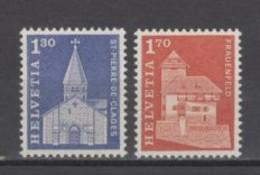 (S2169) SWITZERLAND, 1966 (Definitives). Complete Set. Mi ## 831-832. MNH** - Nuovi