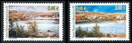 ST-PIERRE ET MIQUELON 2001 - Yv. 754 Et 755 **   Faciale= 0,92 EUR - Saisons Printemps Et Eté (2 Val.)  ..Réf.SPM12277 - Neufs