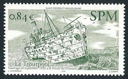 ST-PIERRE ET MIQUELON 2002 - Yv. 784 **   Faciale= 0,84 EUR - Bateau 'Troutpool'  ..Réf.SPM12314 - Neufs