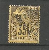 Timbre Colonie Française Réunion Oblitéré N 25 - Usati