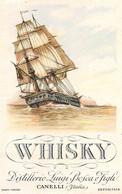 """00178 """"CANELLI - DISTILLERIE LUIGI BOSCA E FIGLI - WHISKY"""" ANIMATA. ETICHETTA ORIG - Whisky"""