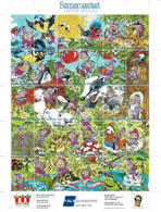 Denmark; Poster Stamp Sheet.  Children's Welfare 1999-2000.  Sheet With 30 Stamps; MNH(**). - Non Classificati