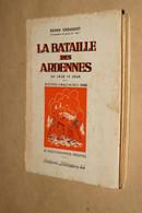 RARE 1945,La Bataille Des Ardennes,autographe De Roger Crouquet,60 Photos Inédites,226 Pages,19 Cm./14 Cm. - Autographed