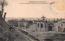 Montrond Les Bains - Vue Prise Du Talus De Fer - Other Municipalities