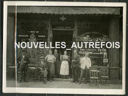 1 PHOTO - CAFE VINS TABAC J.ROBIN  45 RUE BONAPARTE PARIS 6eme - TELEPHONE FLEURUS 00-23 - CONFIRME BOTTIN PARIS 1923. - Plaatsen
