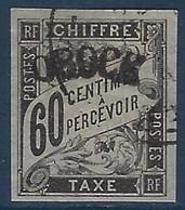 France Colonies Obock Taxe N°4 Oblitéré Superbe !! Signé Roumet - Oblitérés
