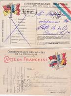 LOT DE CARTES EN FRANCHISE   ACHAT IMMEDIAT - Guerra 1914-18