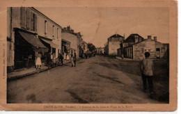 Croix De Vie-L'Avenue De La Gare Et Place De La Mairie - Saint Gilles Croix De Vie