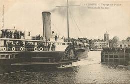 DUNKERQUE VOYAGE DE PLAISIR PROMENADE EN MER - Dunkerque