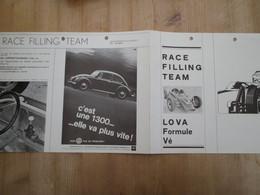 Race Filling Team Lo Va Formule Vé Formule Volkswagen Kever - Advertising