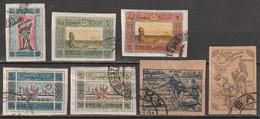 Azerbaïdjan République Socialiste Fédérative Soviétique N° 19, 20, 21, 26, 27, 28, 29 - Azerbaiyán
