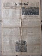 Journal Le Matin (5 Juin 1919) Etatisme - Grèves Parisiennes - Fondation République Rhénane - - Andere