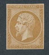 "DX-105: FRANCE: Lot Avec ""NAPOLEON"" N°13Ac**GNO Signé - 1853-1860 Napoleon III"