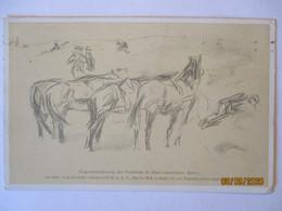 Soldaten Pferde Künstlerkarte Max Liebermann (52572) - 1900-1949