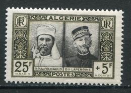 20337 ALGERIE N°284** 25F+5F Cinquantenaire De La Présence Française à In-Salah   1950   TB - Ungebraucht