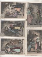 Dansez Mes Sabots Serie N° 694 10 Cartes Couple De Femmes - Unclassified