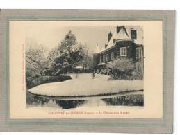 CPA - (88) GIRECOURT-sur-DURBION - Aspect Du Château Sous La Neige Dans Les Années 20 - Sonstige Gemeinden