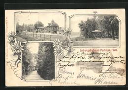 AK Ludwigshafen, Parkfest 1904, Pavillon, Parkhaus - Ludwigshafen