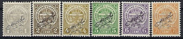 Luxembourg - Luxemburg , Timbres 1908  Armoires Surcharge  Officiel * - Blokken & Velletjes