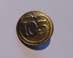 BOUTON EN BRONZE N° 103 - Buttons